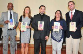 Alberto Labarrere, Liliana Maier, Miguel Castro, Vivian Nogués y Sebastián Buzeta