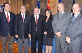 Autoridades de Instituto confucio, Municipio Osorno y UST