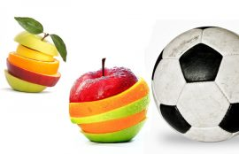 Alimentación de futbolistas
