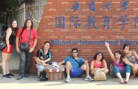 Alumnos viaja a China