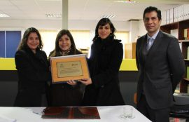 Viviana Parada, Ximena Charpentier, Javiera Faúndez y Aníbal Montoya.