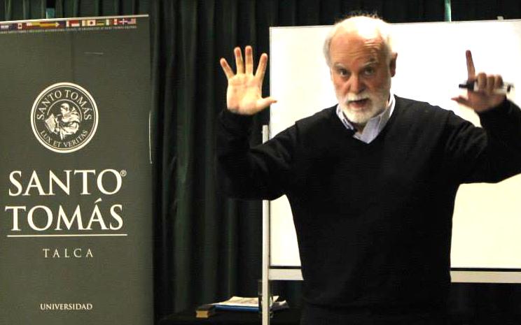 Sergio Canals en la UST Talca