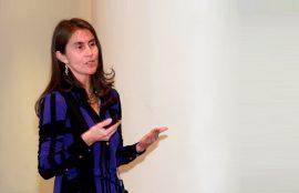 Directora INE Ximena Clark