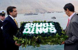 Rector sede Iquique en aniversario de Combate Naval de Iquique