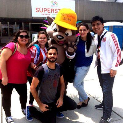 El viaje de Gabriela a Juegos Panamericanos