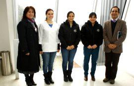 equipo clínica kinésica y autoridades UST Valdivia