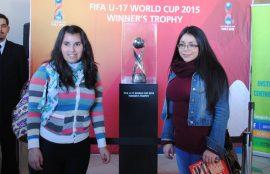 Trofeo mundial de fútbol sub 17 en Viña del Mar