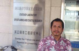 Nelson Lagos en pasantía en China