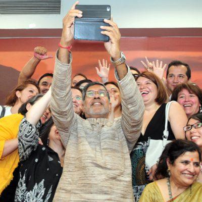 Kailash Satyarthi en UST santiago