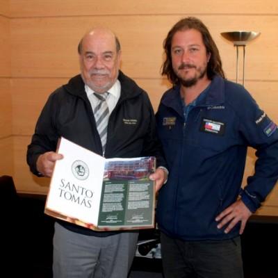 rector UST viña del Mar y Francisco Fantini