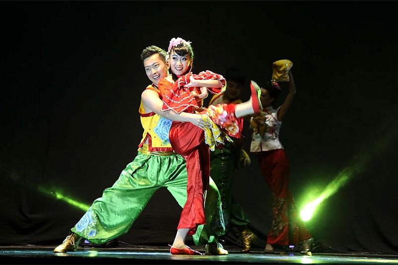 Conjunto de canto y danza de Jilin