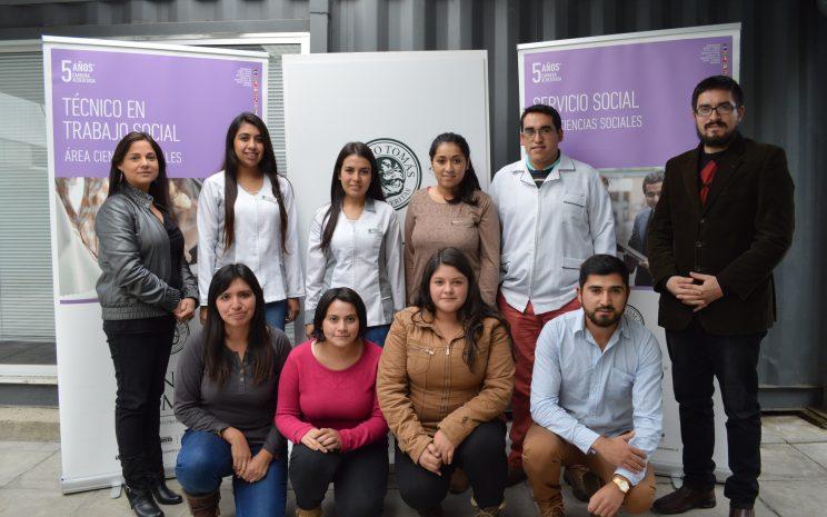 Estudiantes que participan del proyecto.