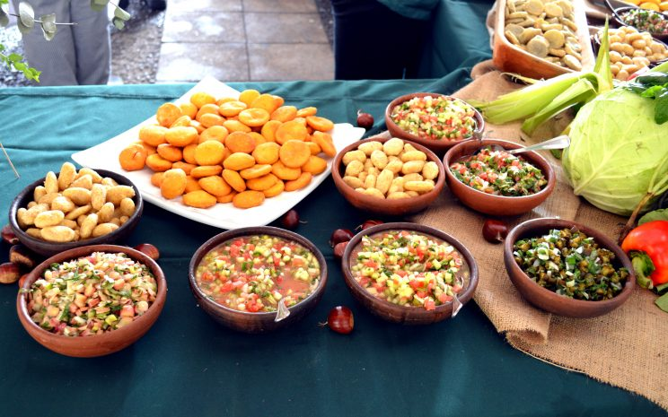 Platos comida chilena