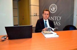 Marcelo Cevas en Santo Tomás Diálogos Constitucionales
