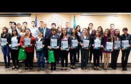 Premiación mejores alumnos Santo Tomás Rancagua horario vespertino