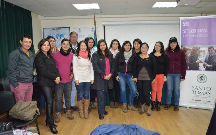 Al encuentro asistieron 30 estudiantes, destacando la presencia de las directoras de escuela Carmen Gloria Carvajal y Jessica Quezada.