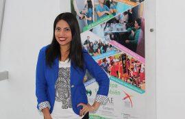Lissette Araneda, siente que la UST la preparó en plenitud para el mundo laboral.