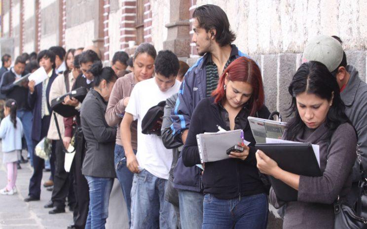 Desempleo Trimestre enero-marzo
