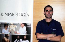 Rodrigo Benítez, titulado de Kinesiología UST Viña del Mar.