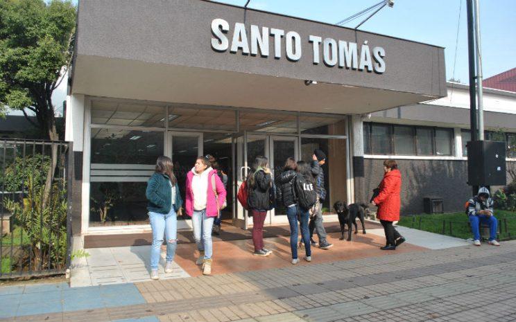 Frontis Santo Tomás Osorno