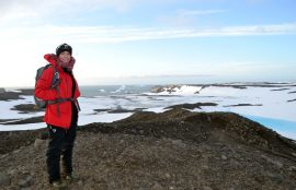 Alumna Vina en Antartica 9