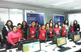 """Alumnos del Colegio Pucará con Síndrome de Down participaron del taller """"La Magia de Programar"""""""
