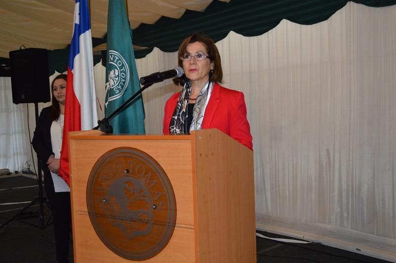 Marie Oriette Cáceres, directora académica IP-CFT Santo Tomás Temuco