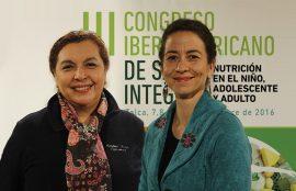 María Cristina Levet, Directora Escuela Enfermería UST Talca y Lucía Meyer, Directora Escuela Nutrición y Dietética UST Talca.