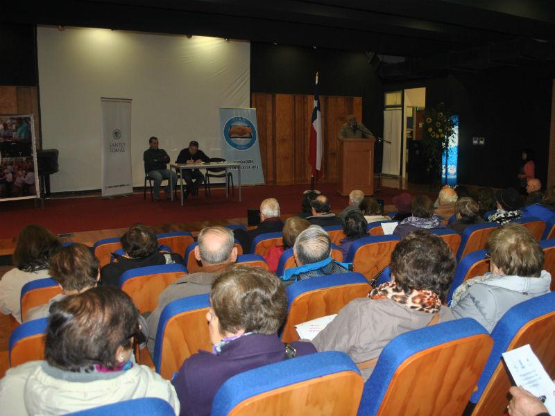 Convenio de trabajo entre la UST y la Liga Deportiva y Recreativa del adulto mayor en Osorno