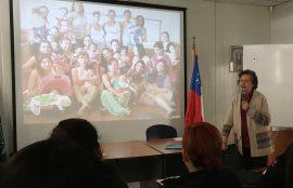 Graziana Bartolucci comentó los inicios de la Liga de la Leche en Chile y explicó la importancia de la Semana Mundial de la Lactancia Materna.