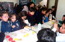 Segundo día de las V Feria de la Ciencia y Tecnología de Santo Tomás Osorno