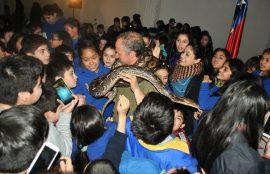 Segundo día de la V Feria de la Ciencia y Tecnología de Santo Tomás Osorno