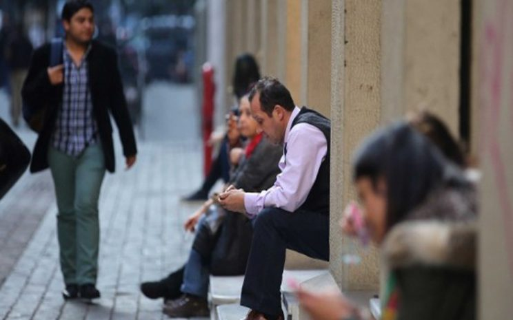 Foto Columna Desempleo em deterioro
