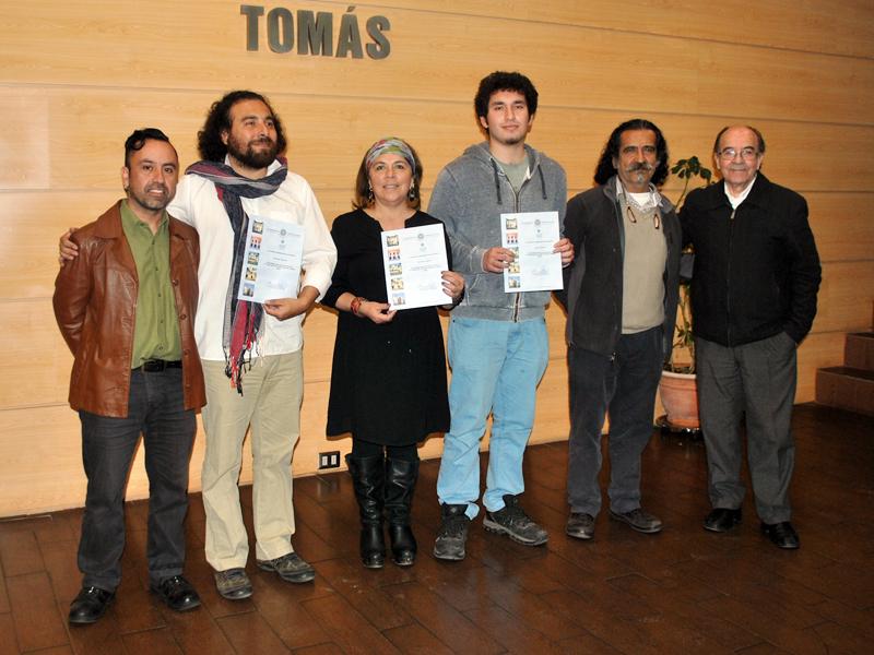 """Ganadores de las menciones honrosas del 6º Concurso de Artes Visuales """"Camilo Mori"""""""