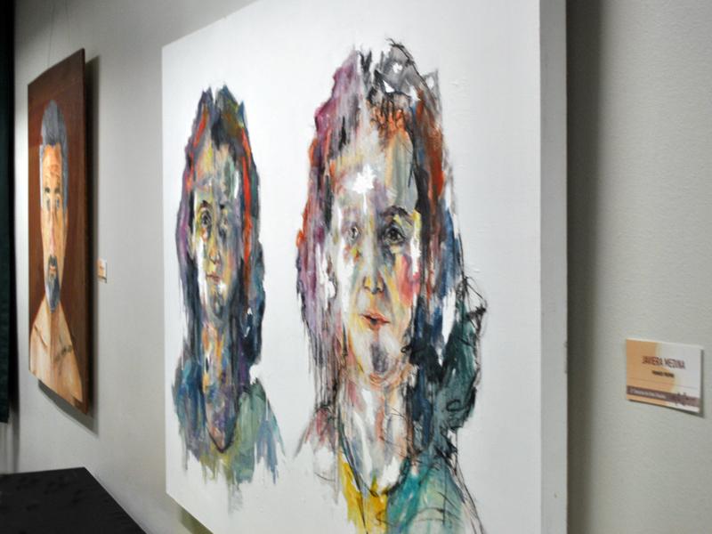 Obra plástica de Javiera Medina, ganadora del concurso.