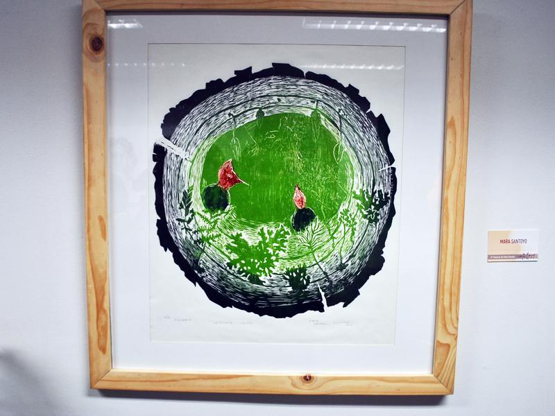 Obra de arte de uno de los participantes del concurso 3