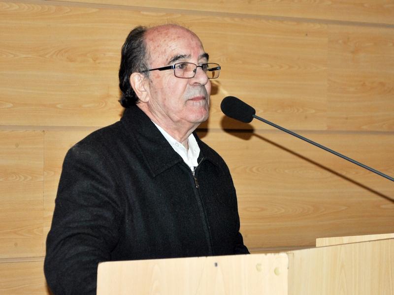 Raúl Barros, gestor cultural de Santo Tomás Viña del Mar.