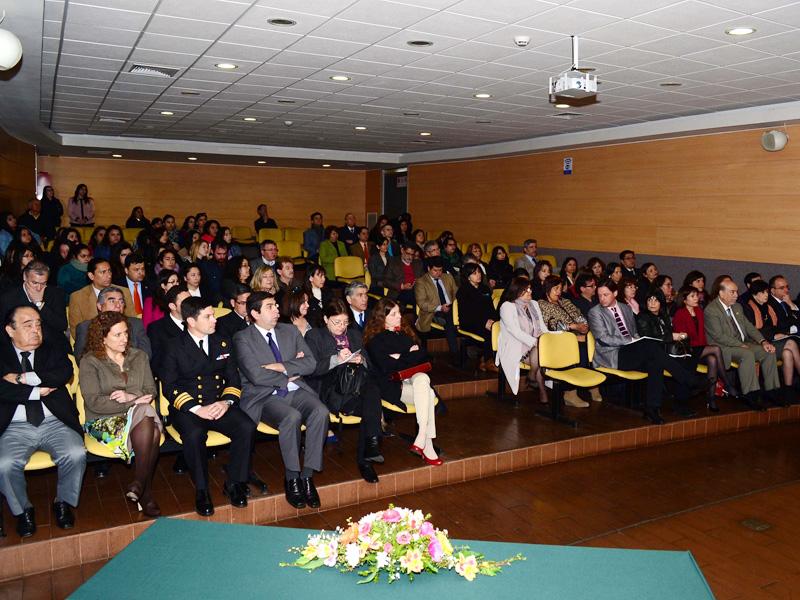 Público asistente a la inauguración del CIEDUCA