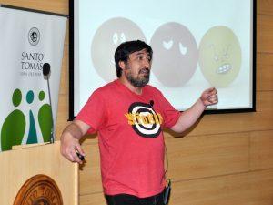 José Perich, fundador del colectivo Autismo Chile.