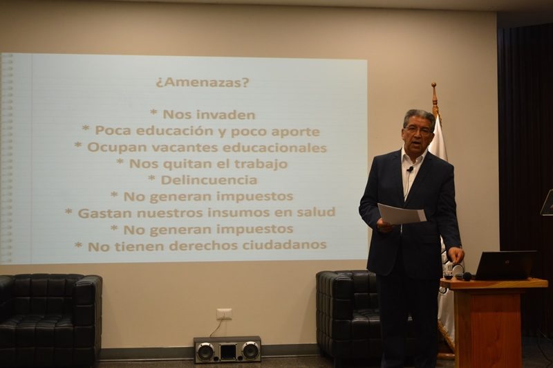 Conversatorio de interculturalidad sede Santiago Centro