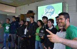 Ruiz y Marín motivan a estudiantes penquistas