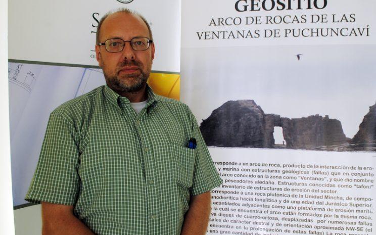 Joachim Zora, director de la Escuela de Geología de UST Viña del Mar.