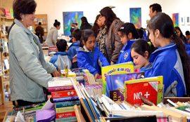 Segundo día de la VI Ferial del Libro y las Artes