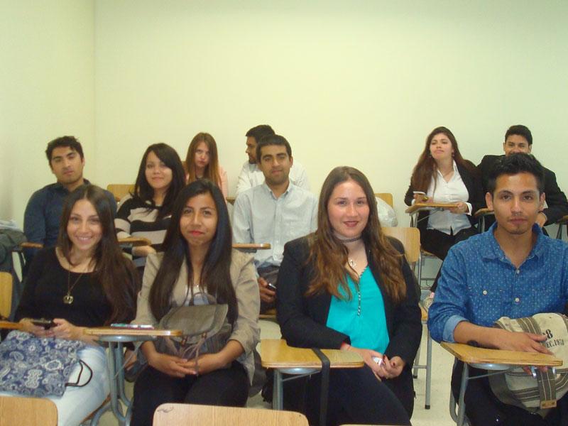 Estudiantes participantes de la capacitación.