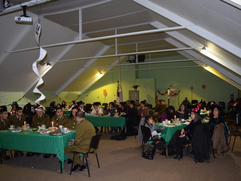 Chiloween, organizado por carreras Pedagogía UST Puerto Montt