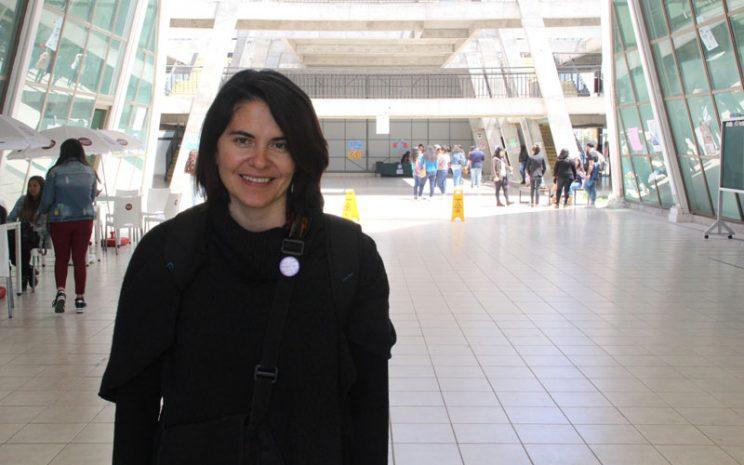 Foto individual de María Fernanda Glaser.
