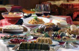 comidas de fin de año