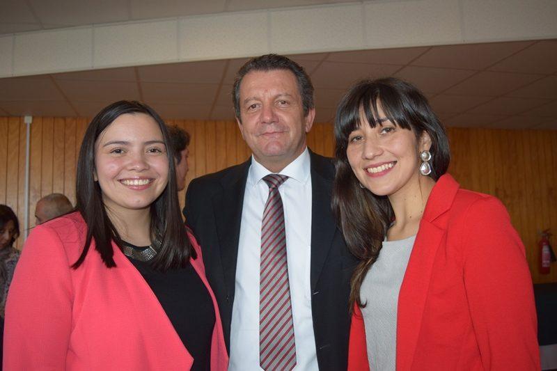 Catalina Soto, Alberto Augsburger y Judith Miranda