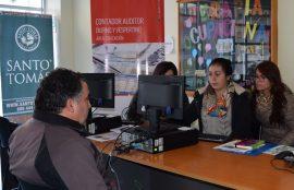 Stand Operación Renta, sede Puerto Montt
