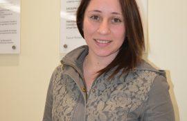 Claudia Vargas, estudiante Nutrición y Dietética Universidad Santo Tomás Puerto Montt.